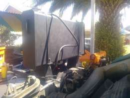 Fuel tanker pto and complete hydraulic system installations