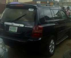 Clean Toyota Highlander 2003,leather interior for N1.7m