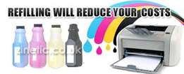 Toner and ink refills at cheap prices