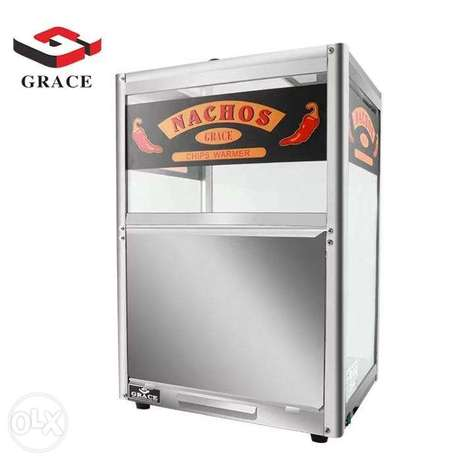 GRACE Chips Warmer Nachor Commercial Snack machine