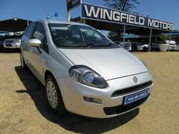 2012 FIAT PUNTO 1.4 easy 5DR Silver
