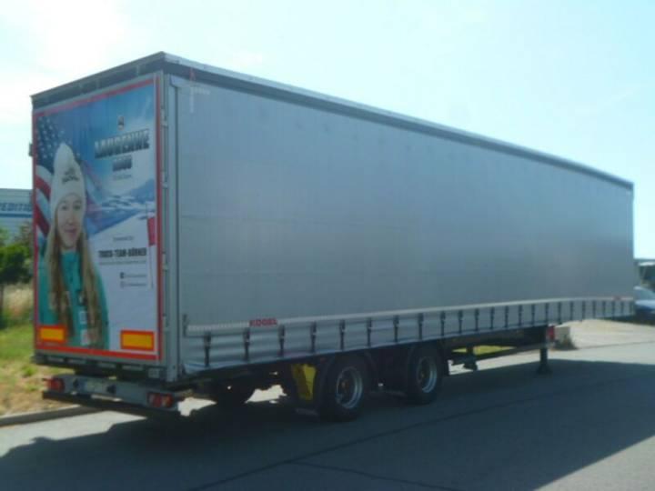 Koegel S 18 2-Achs Megau002F10 t SAF Achsenu002FDC9.5 Lasi XL - 2018