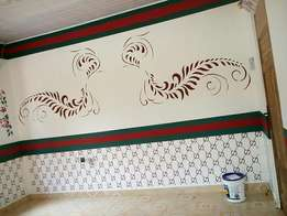 Interior paintings and design