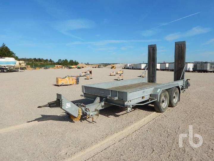 E68TA Trailer 4.5 M x 2 M 5800 Kg T/A