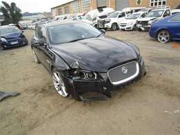 Jaguar XF stripping for spare parts