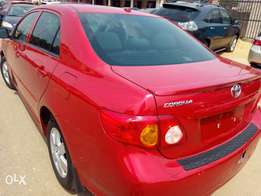 Toyota Corolla 2010 model