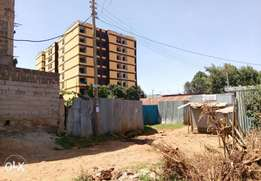 Quarter acre ideal for flats development for sale along Kikuyu road