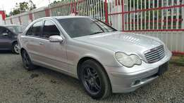 Mercedes Benz, C200 Kompressor, Year 2002, Engine 2000cc, Automatic