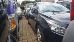 Very clean Black chevrolet Cruze LTZ 2013 model,1800cc petrol engine.