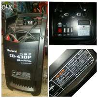 Battery booster and charger