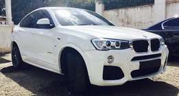 BMW X4 Sport Edition 2014 Model Fully Loaded For Sale 7,000,000/=