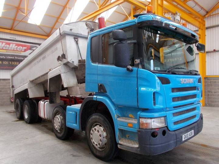 Scania P380 ALUMINIUM AGGREGATE TIPPER - 2010 - GK10 AOB - 2010
