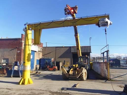 Bdc Lifting 1.5t Crane - 1998