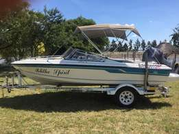 1995 Countess 165 with Yamaha V4 130hp auto lube outboard engine