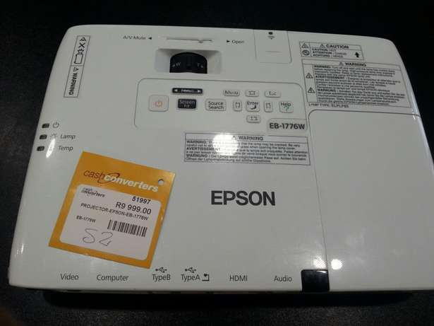 Projector Epson EB-1776W Auckland Park - image 2