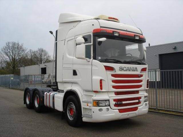 Scania R500 6X4 HIGHLINE RETARDER 70 TON PULL WEIGHT - 2012