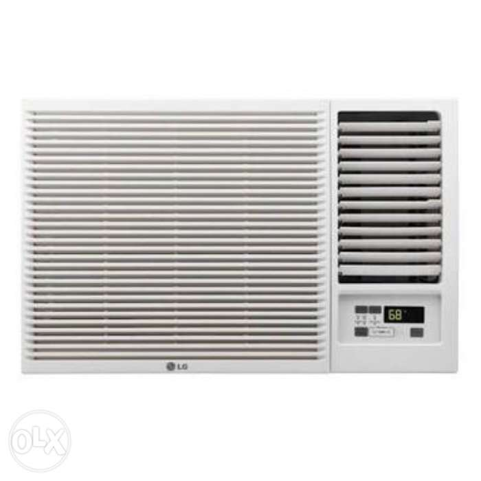 Lg window unit air conditioner 1 5hp with remote control for Window ac unit