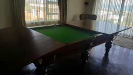 snooker table in mint condition