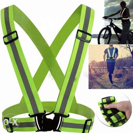 safety adjustable vest with reflector