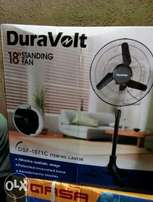 DuraVolt 18inchies standing fan.cool any time