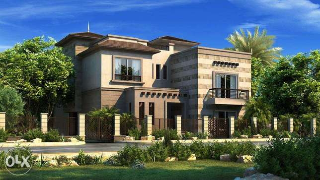 For Sale Standalone villa Golf View at District one, NEW GIZA