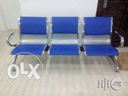 Blue 3in1 Office Reception Chair