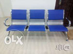 Blue 3in1 Office Reception Chair Ikeja - image 1