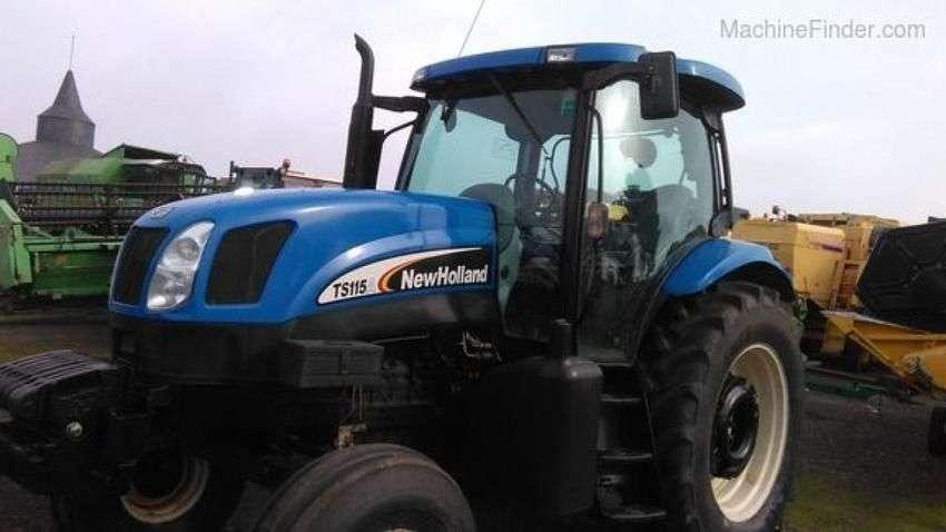 New Holland Ts 115 A - 2004