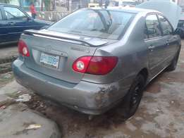 xtra Clean 1st Body Toyoto Corolla 2003 Model For Sale