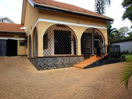 A three bedroom standalone house for rent in naguru