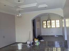 Beautiful and serviced 2bedroom flat (Newly built) for rent at Utako