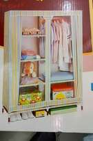 Quality portable 2 columns wooden big wardrobes we deliver COUNTRYWIDE