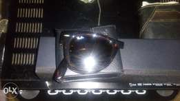 Brand new Skin colour Rayban foldable glasses