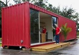 Shipping container conversions