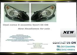 Opel corsa D Essential Sport 2008 onwards New Headlights for sale