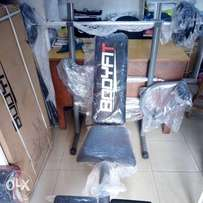 Bodyfit weight bench and 50kg weight