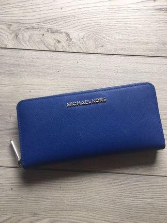 2c5c093411686 Michael Kors Jet Set Travel portfel Electric Blue sprzedaż lub zamiana  Bydgoszcz - image 3