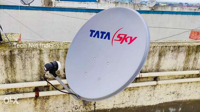Satellite dish selling and installation work in Qatar just call me on