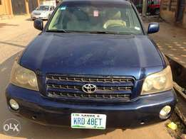 Registered Toyota Highlander(02)For Sale
