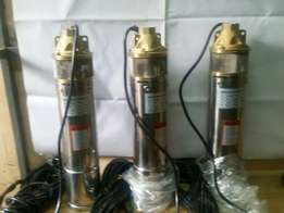Submersible Electric pump 1 HP, 2500lph head up to 100m