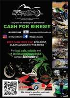 Bikes wanted for cash