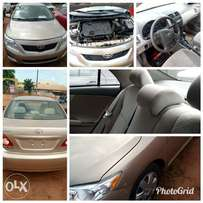 Pristine clean tokunbo Toyota Corolla 2008 model at a good price