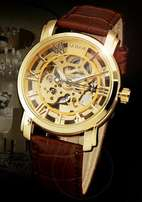 Sewor skeleton automatic watch