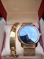 Movado Wrist Watch and Bracelet
