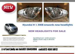 Hyundai H1 2008 ONWARDS New headlights for sale price:R1450 each