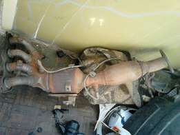 Catalytic converter for ford focus 1.6 engine