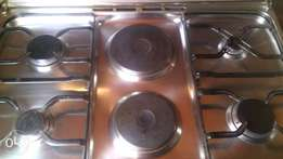 Electric and gas cooker
