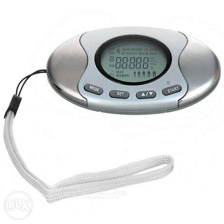 Brand New 2 in 1 Pedometer & Fat Analyzer