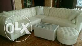Sectional Chesterfield sofa set