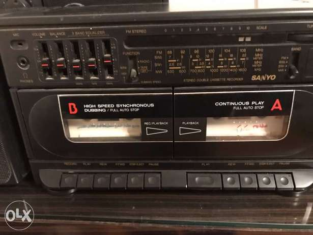 cassette player recorder radio Sayno made in Japan